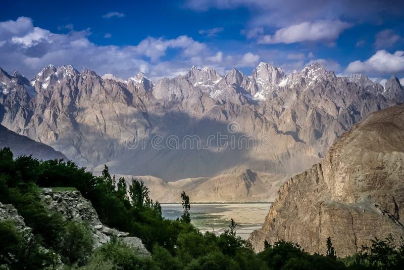 Parque nacional central de Karakorum foto de archivo