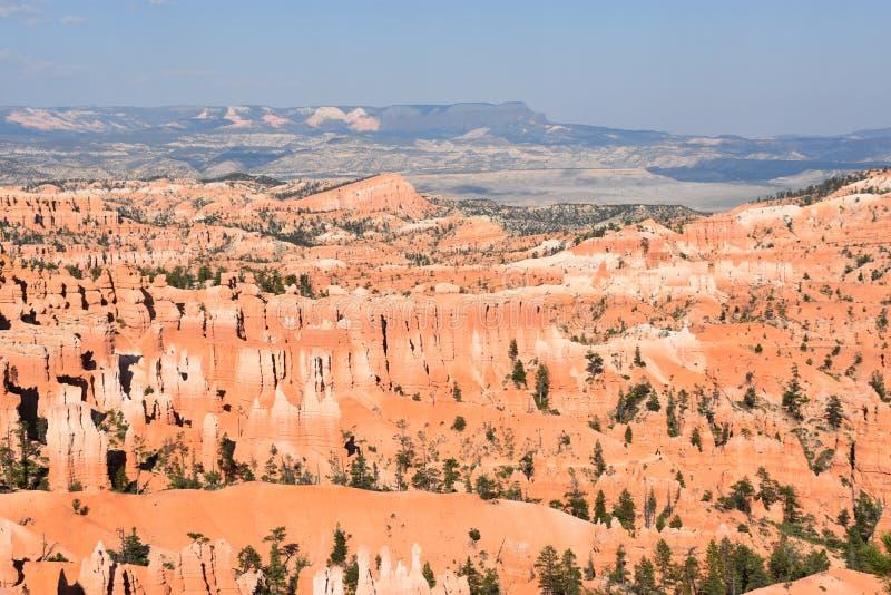 Parque nacional da garganta de Bryce em Utá fotografia de stock