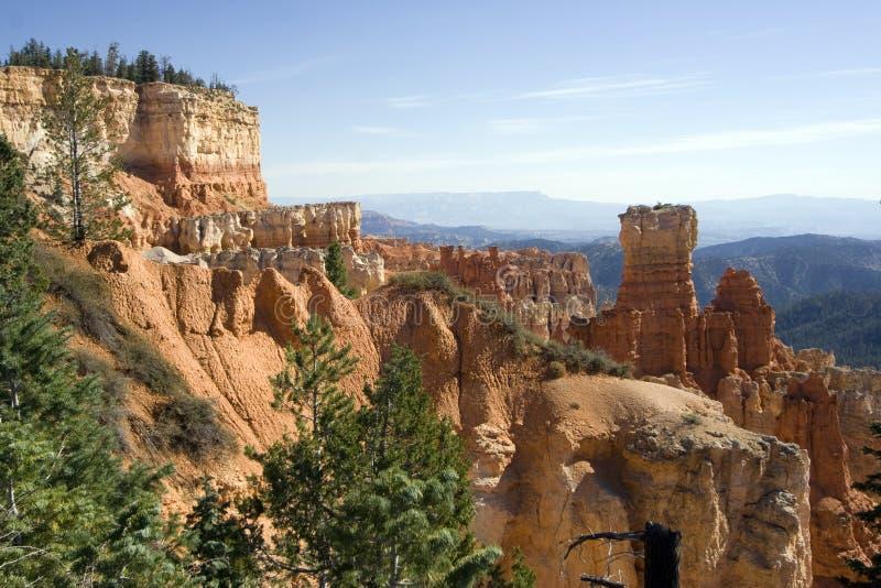 Parque nacional da garganta de Bryce, Utá fotos de stock royalty free