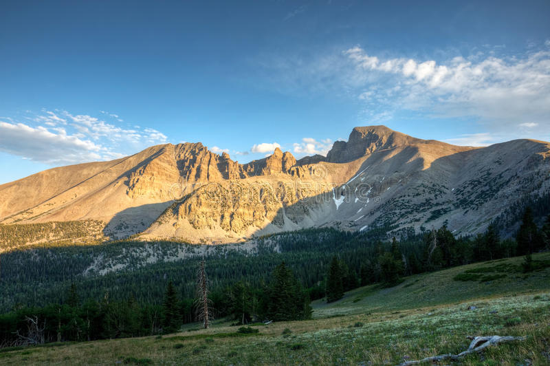 Parque nacional da grande bacia fotos de stock