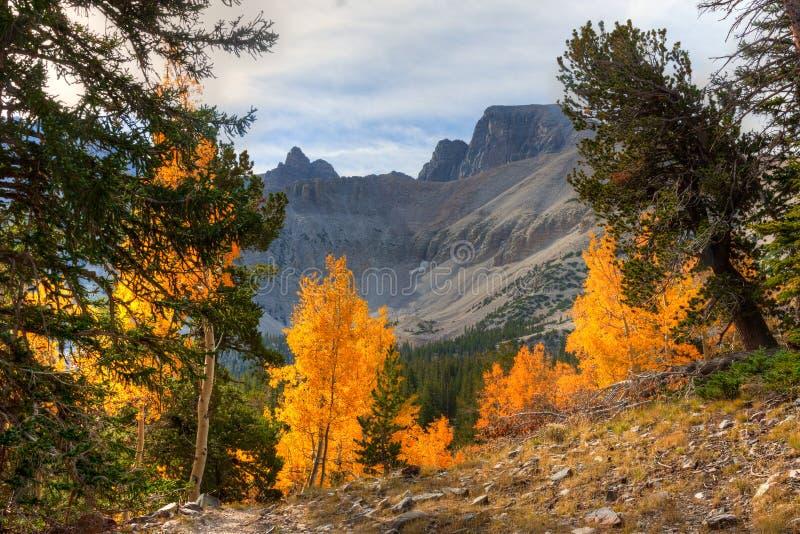 Parque nacional da Nanovolt-grande bacia fotografia de stock