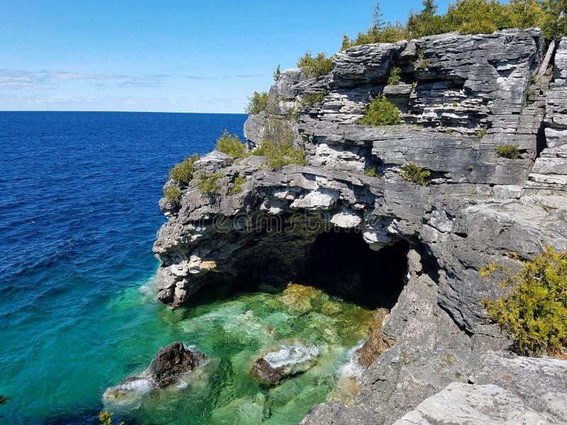 Parque nacional da península de Bruce imagem de stock