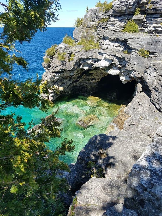 Parque nacional da península de Bruce fotografia de stock