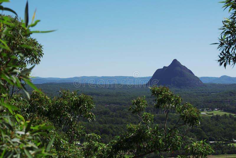 Parque nacional das montanhas de vidro da casa em Austrália imagem de stock royalty free
