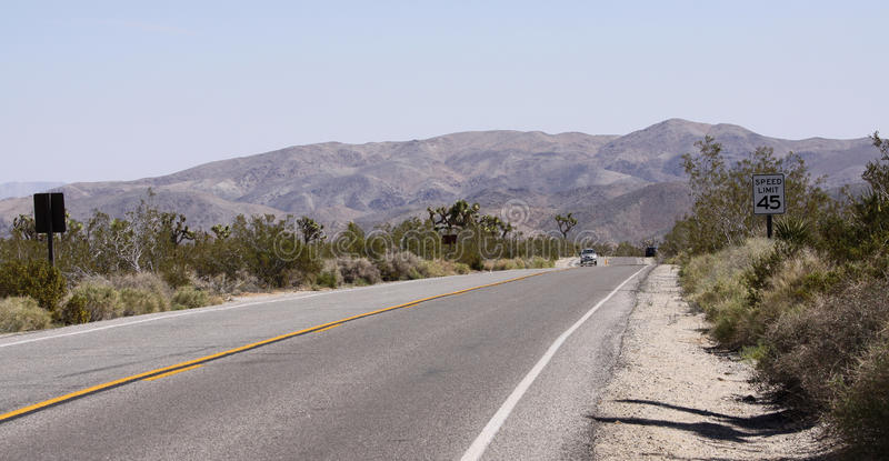 Parque nacional de árvore de Joshua, Califórnia, Estados Unidos fotos de stock royalty free