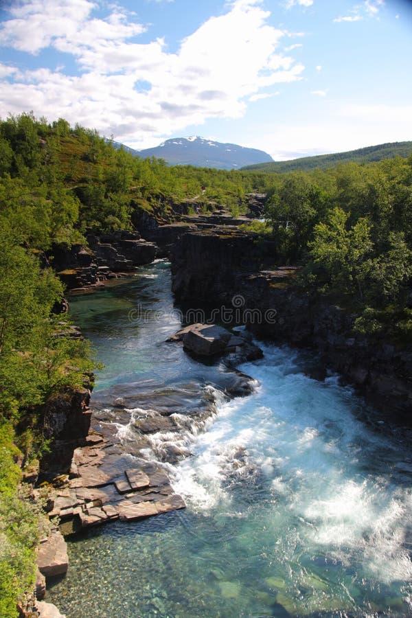 Parque nacional de Abisko fotos de archivo