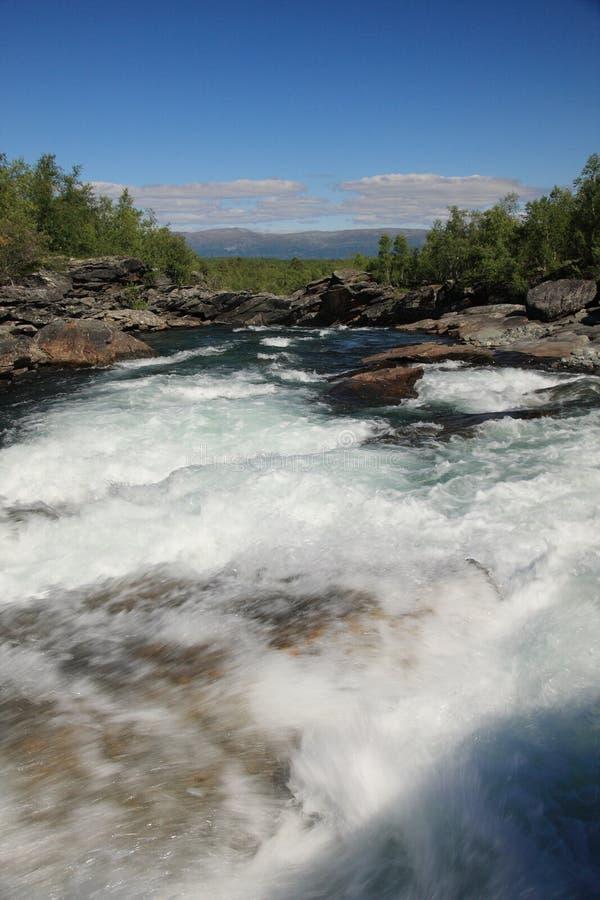 Parque nacional de Abisko imagen de archivo