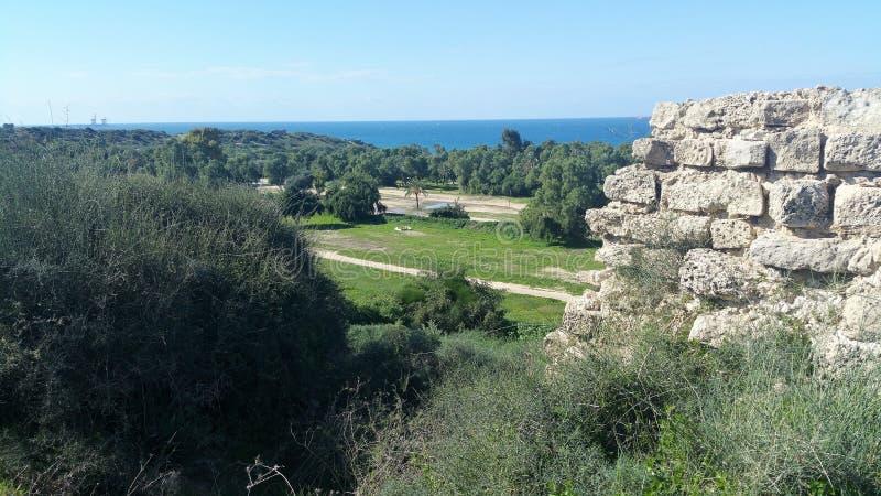 Parque nacional de Ashkelon fotos de stock royalty free