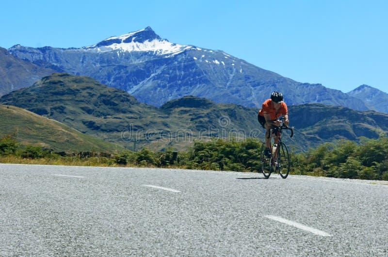 Parque nacional de aspiração da montagem - Nova Zelândia imagens de stock
