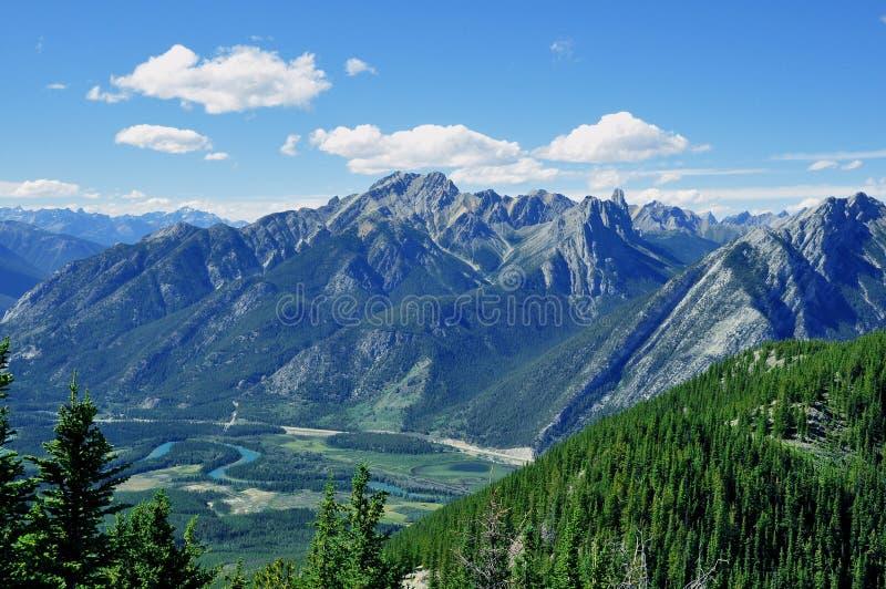 Parque nacional de Banff fotos de archivo