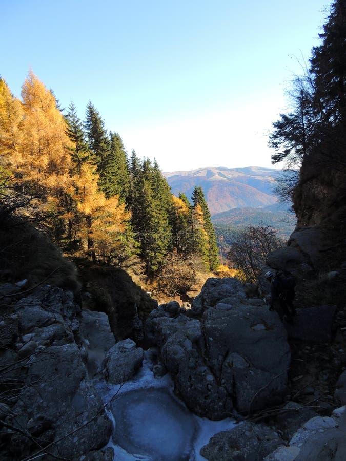Parque nacional de Bucegi rumania foto de archivo libre de regalías