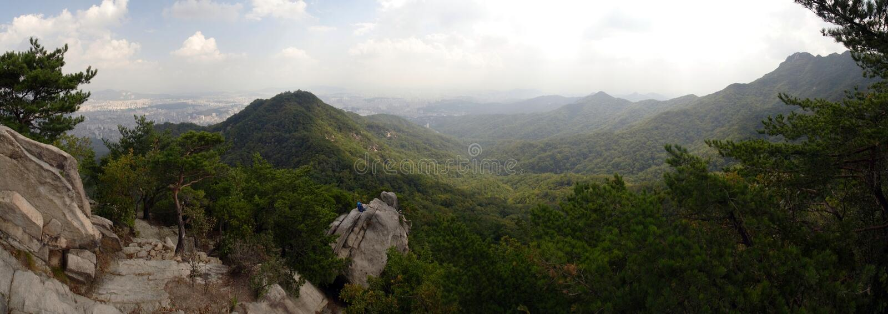 Parque nacional de Bukhansan imagen de archivo