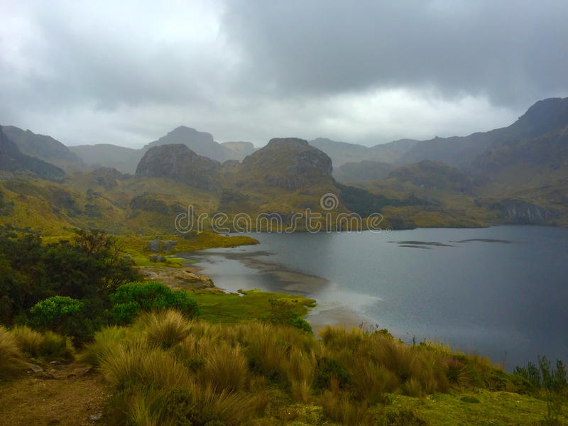 Parque nacional de Cajas fotos de stock royalty free