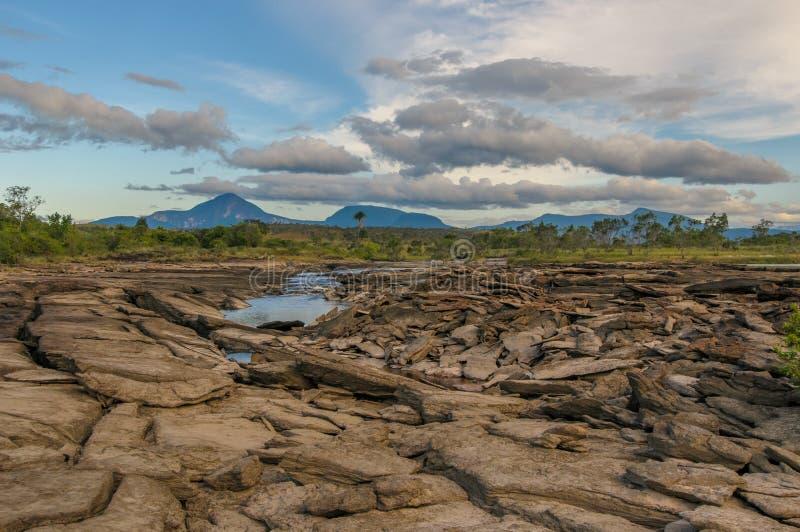 Parque nacional de Canaima, Venezuela fotos de archivo