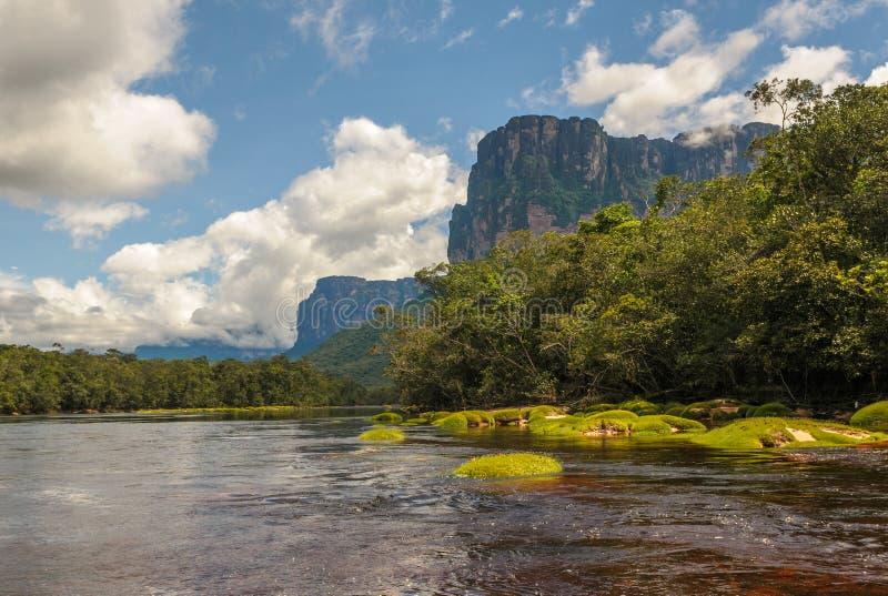 Parque nacional de Canaima, Venezuela foto de archivo
