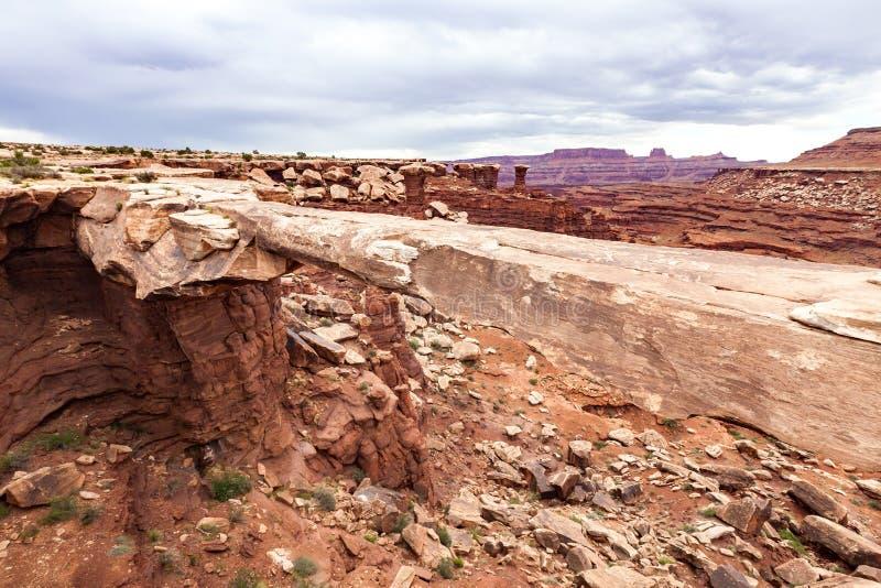 Parque nacional de Canyonlands, Utah, los E fotos de archivo