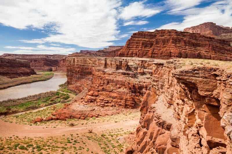 Parque nacional de Canyonlands, Utah, los E imagen de archivo libre de regalías