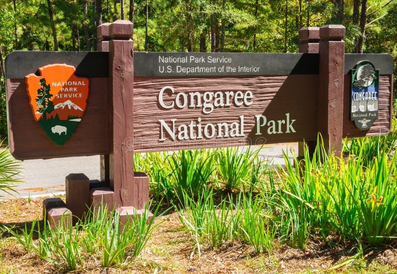 Parque nacional de Congaree fotos de archivo