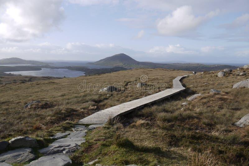 Parque nacional de Connemara imagenes de archivo