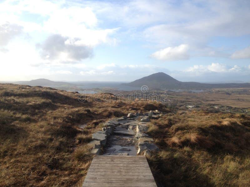 Parque nacional de Connemara foto de archivo libre de regalías