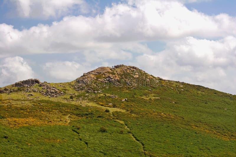 Parque nacional de Dartmoor imagen de archivo libre de regalías