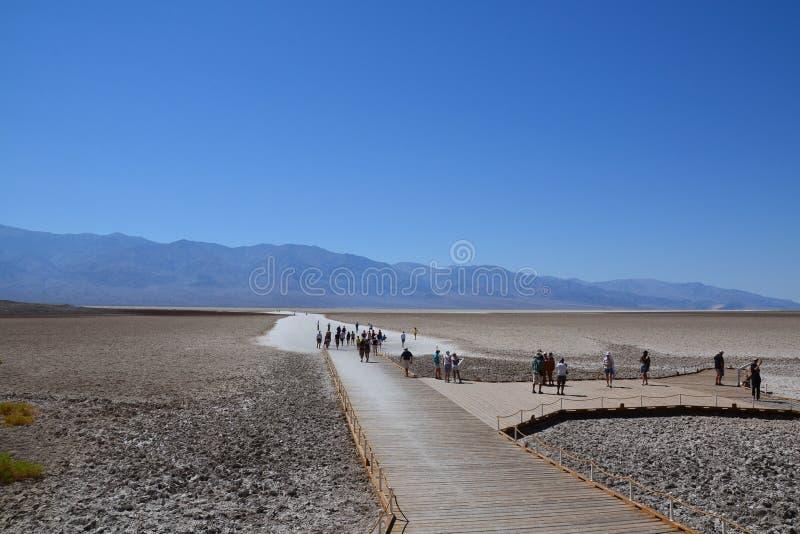 Parque nacional de Death Valley fotografía de archivo libre de regalías