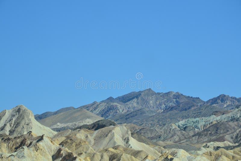 Parque nacional de Death Valley, camino de Death Valley fotografía de archivo libre de regalías