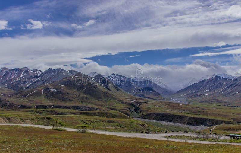 Parque nacional de Denali, Alaska los E foto de archivo libre de regalías