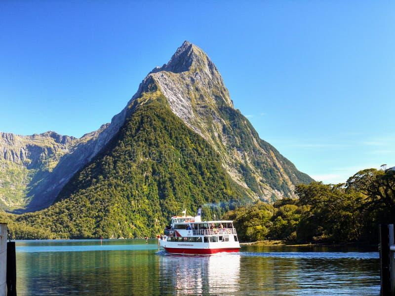 Parque nacional de Fiordland, Nueva Zelanda imagen de archivo libre de regalías