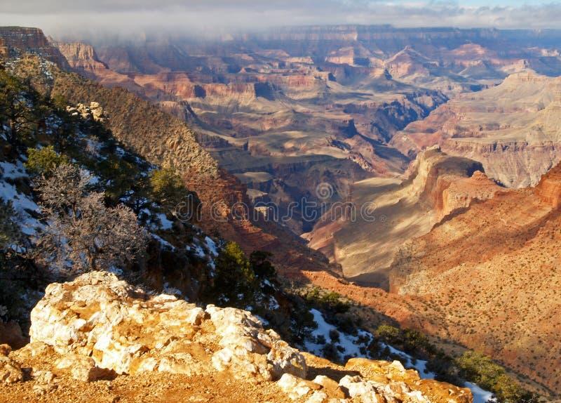 Parque nacional de garganta grande fotos de stock royalty free