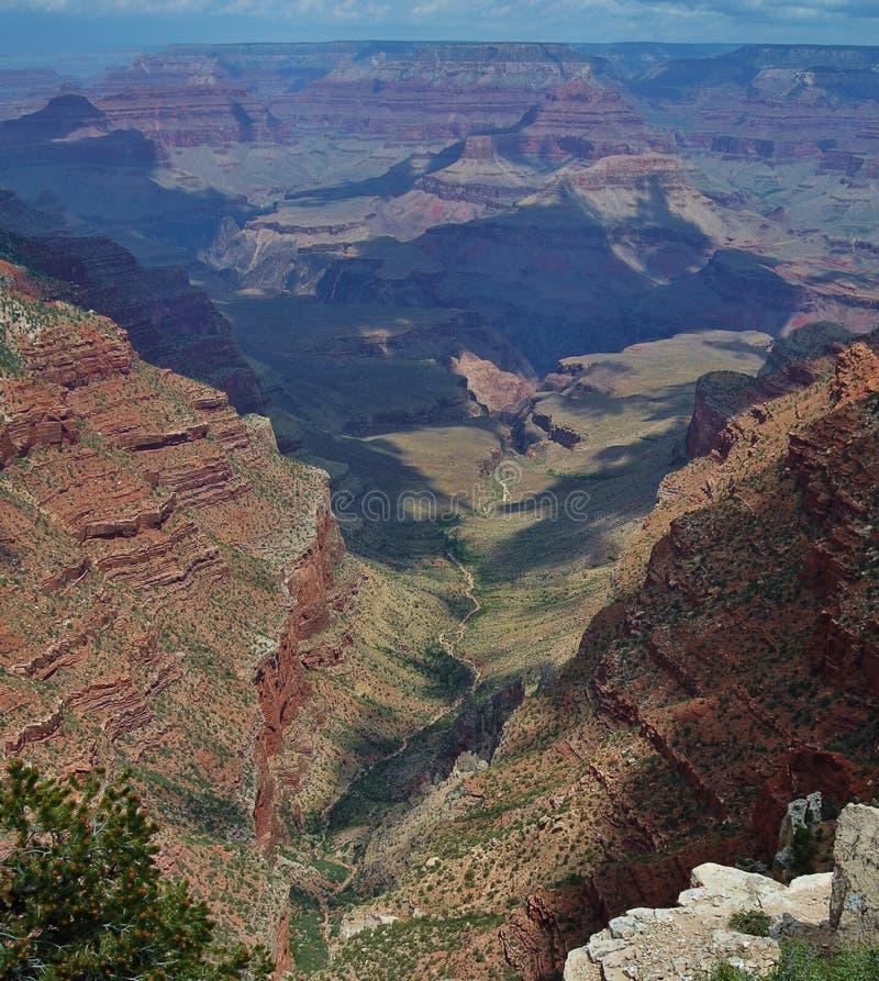 Parque nacional de garganta grande, borda sul fotografia de stock royalty free
