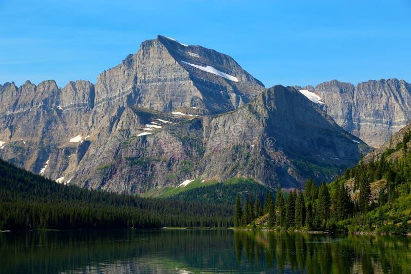 Parque nacional de geleira de Gould da montagem foto de stock