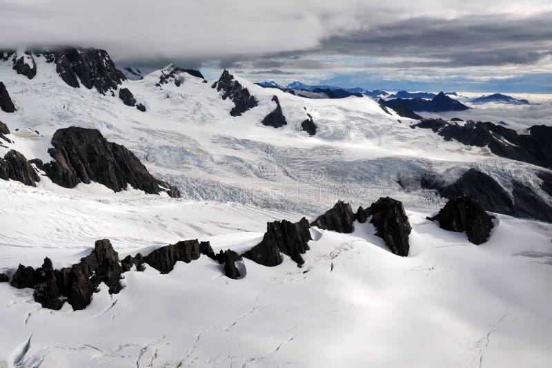 Parque nacional de geleira do Fox imagens de stock royalty free