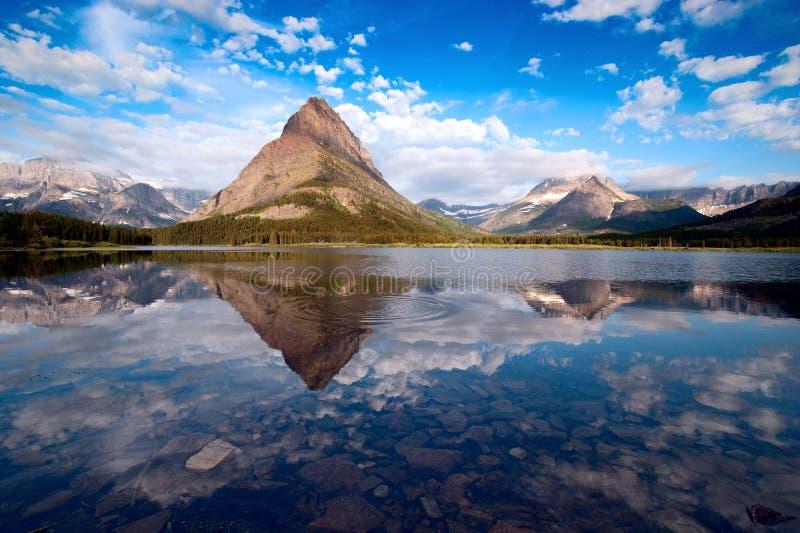 Parque nacional de geleira. Montana foto de stock royalty free