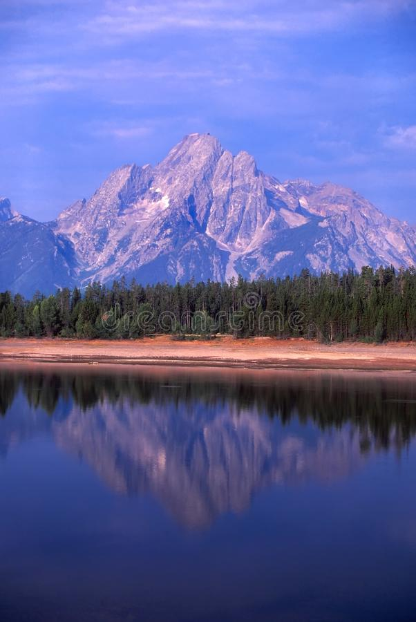 Parque Nacional De Grant Teton Fotografía de archivo libre de regalías