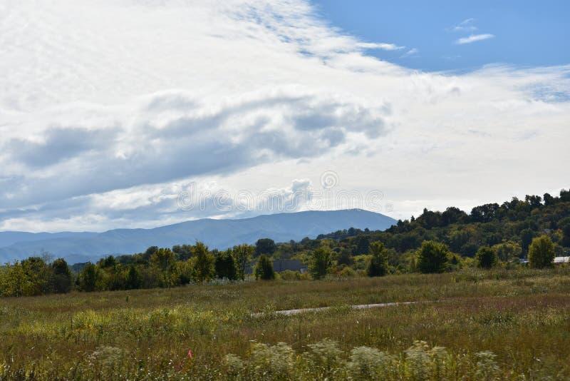 Parque nacional de Great Smoky Mountains em Tennessee fotos de stock