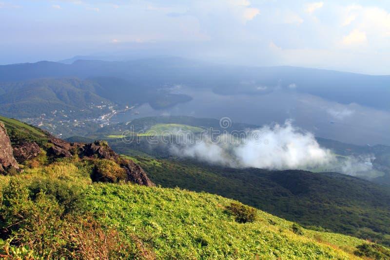 Parque nacional de Hakone, Japão foto de stock royalty free