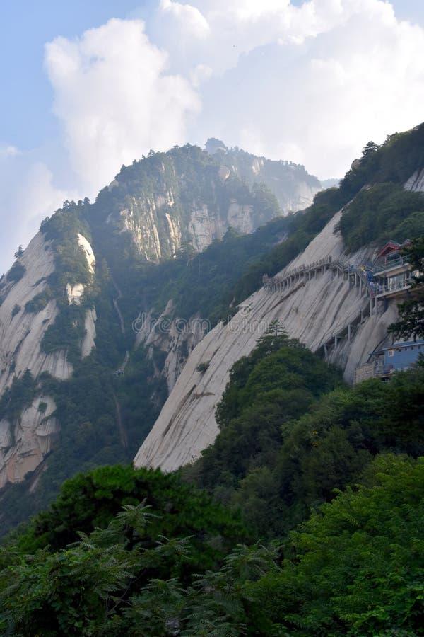 Parque nacional de Huashan da montagem, Shaanxi, China imagem de stock