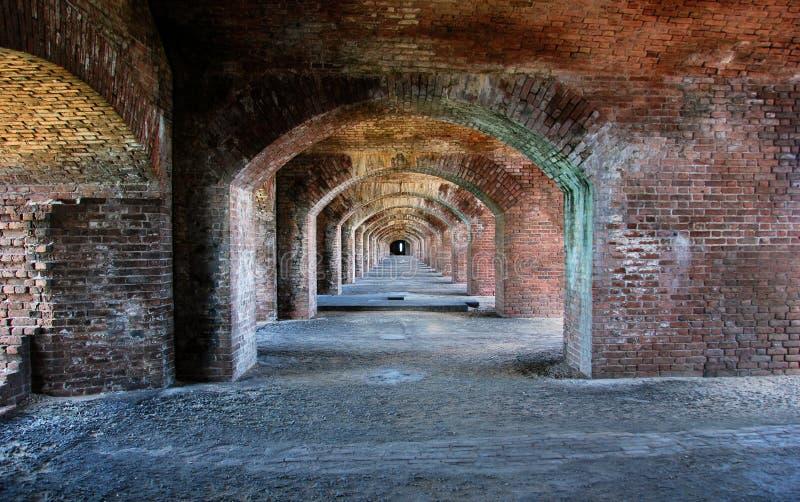 Parque nacional de Jefferson de la fortaleza fotografía de archivo