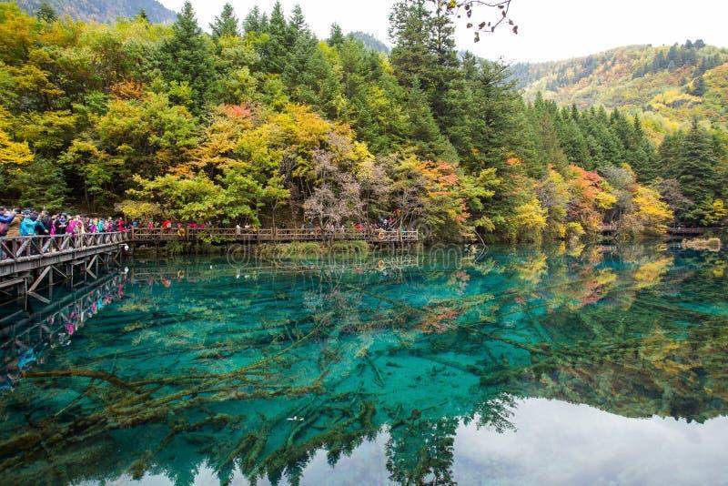 Parque nacional de Jiuzhaigou foto de archivo libre de regalías