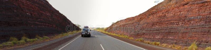 Parque nacional de Karijini, Austrália Ocidental imagem de stock