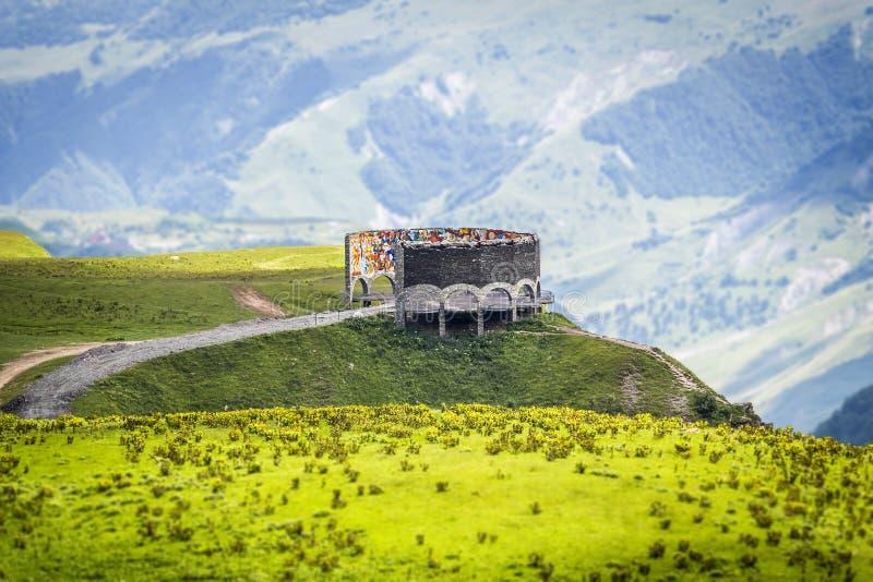 Parque nacional de Kazbegi fotografía de archivo