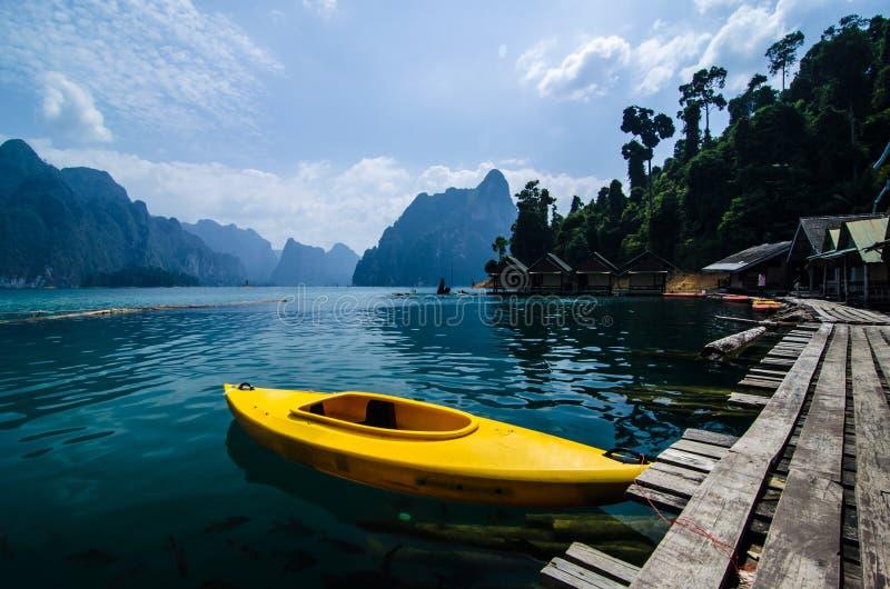 Parque nacional de Khaosok, Suratthani, Tailândia fotografia de stock