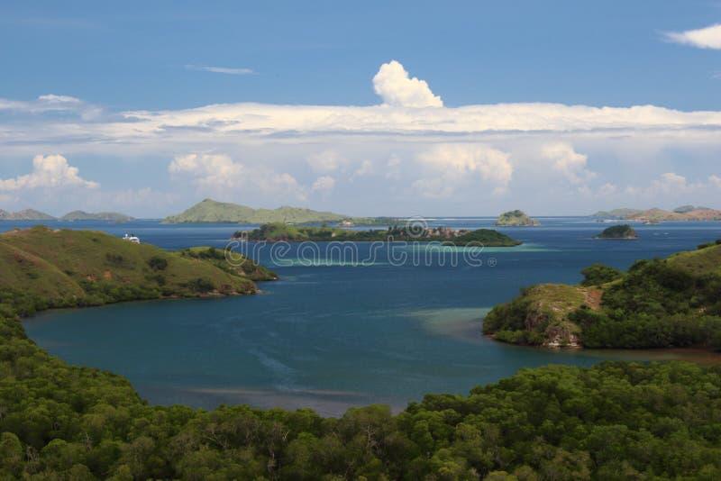 Parque nacional de Komodo, Indonesia fotos de archivo libres de regalías