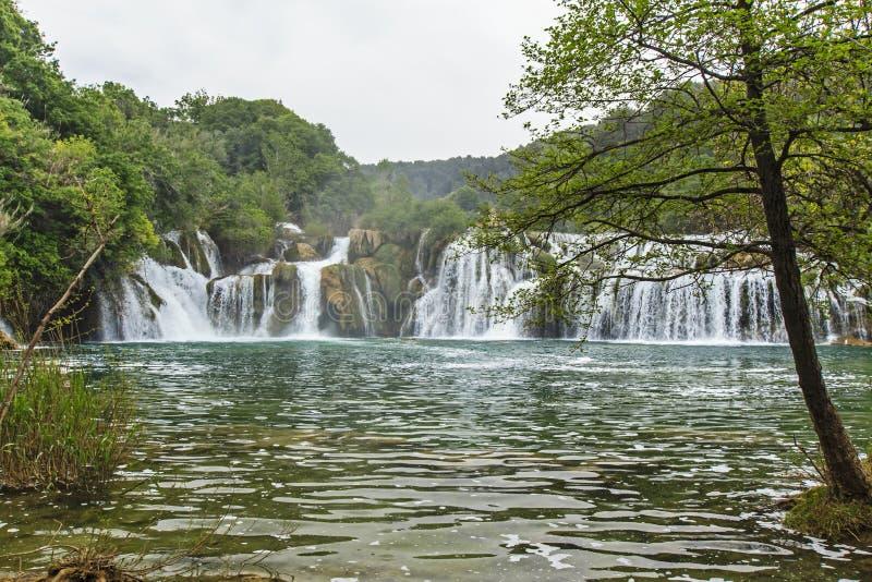 Parque nacional de Krka imagens de stock royalty free