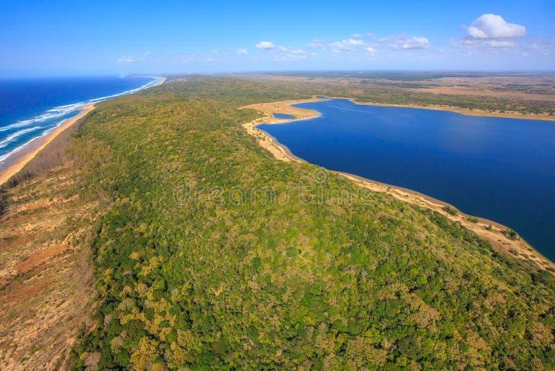 Parque nacional de la bahía de Sodwana imágenes de archivo libres de regalías