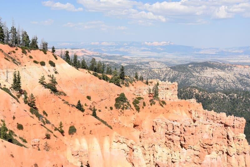 Parque nacional de la barranca de Bryce en Utah imágenes de archivo libres de regalías