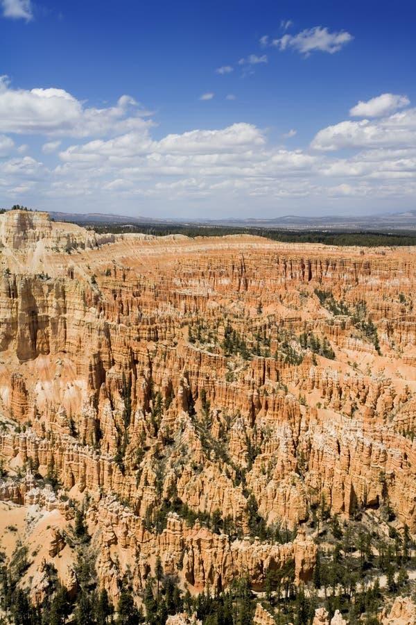 Parque nacional de la barranca de Bryce fotografía de archivo libre de regalías