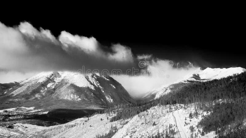 Parque nacional de la montaña rocosa foto de archivo