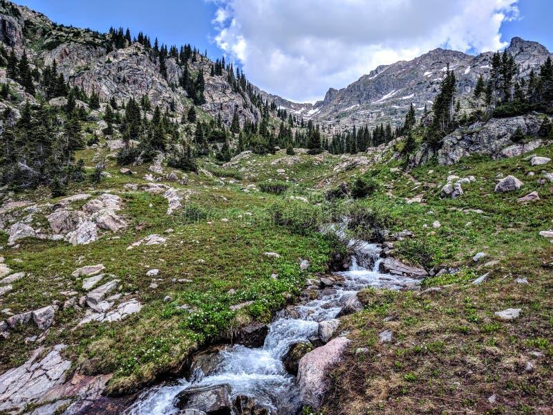 Parque nacional de la montaña rocosa imagen de archivo libre de regalías